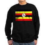 Uganda Flag Sweatshirt (dark)