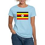 Uganda Flag Women's Light T-Shirt