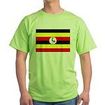 Uganda Flag Green T-Shirt