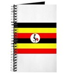 Uganda Flag Journal