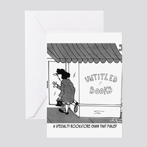 Untitled Books Greeting Card