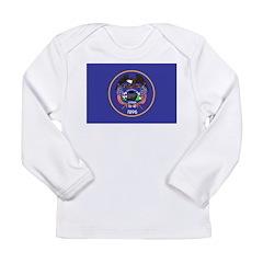Utah Flag Long Sleeve Infant T-Shirt