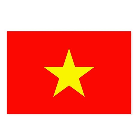 Vietnam Flag Postcards (Package of 8)
