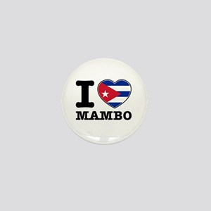 I love Mambo Mini Button