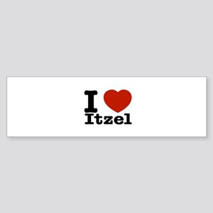 I love Itzel Sticker (Bumper)