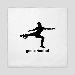 Goal Oriented Soccer Queen Duvet