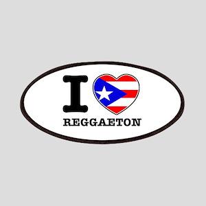 I love Reggaeton Patches