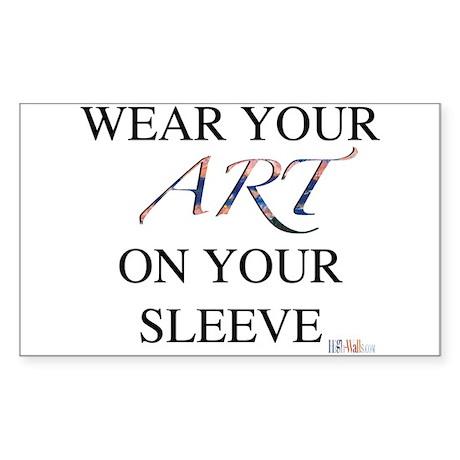 Nifty Slogan Rectangle Sticker