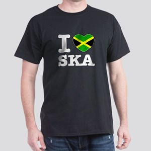 I love Ska Dark T-Shirt