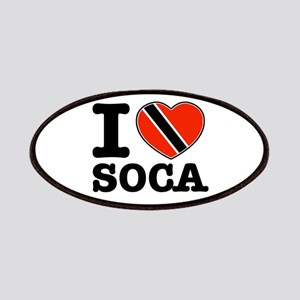 I love Soca Patches