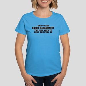 Anger Management Women's Dark T-Shirt