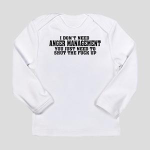 Anger Management Long Sleeve Infant T-Shirt