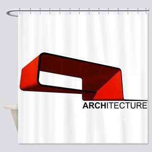 Architecture Shower Curtain