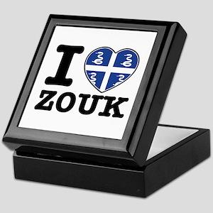 I love Zouk Keepsake Box