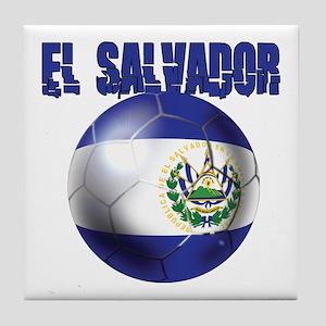 Futbol de El Salvador Tile Coaster