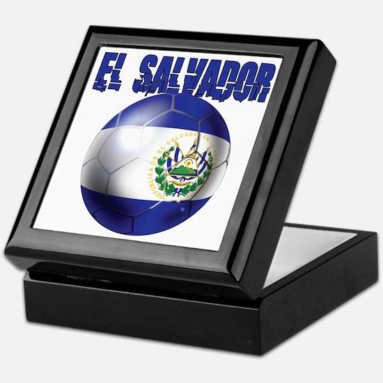 Futbol de El Salvador Keepsake Box