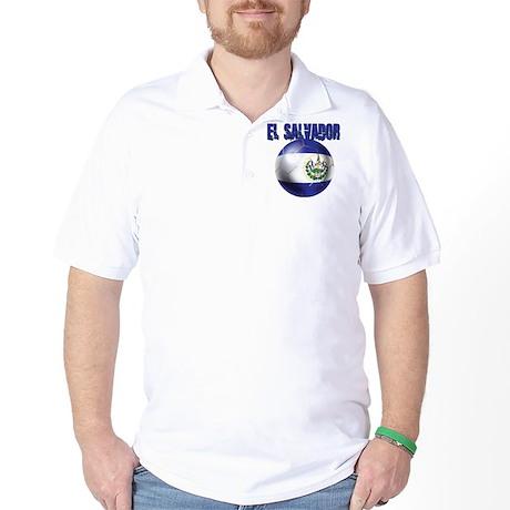 Futbol de El Salvador Golf Shirt