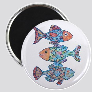 Fishes 3 Magnet