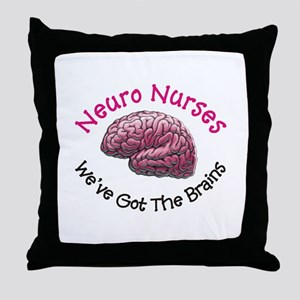 Neuro Nurse Throw Pillow