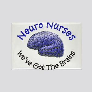 Neuro Nurse Rectangle Magnet (10 pack)