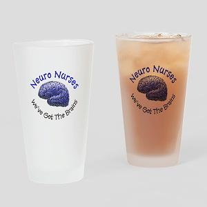 Neuro Nurse Drinking Glass