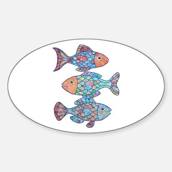 Unique Ocean Sticker (Oval)