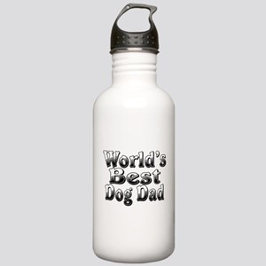 WORLDS BEST Dog Dad Stainless Water Bottle 1.0L