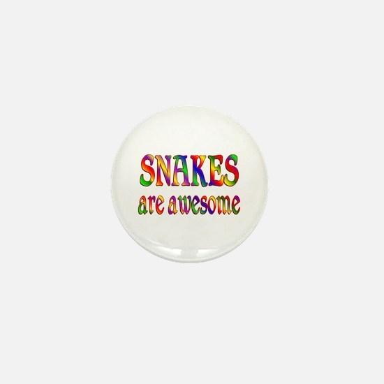 Awesome SNAKES Mini Button