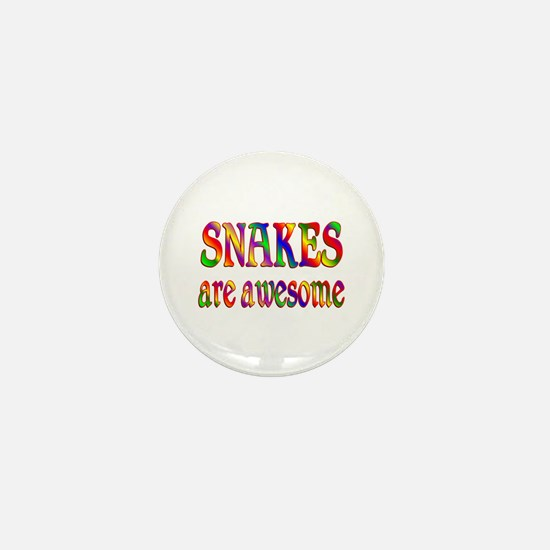 Awesome SNAKES Mini Button (10 pack)