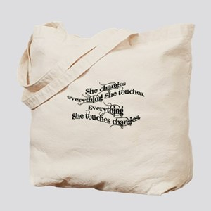 She Changes Everything Tote Bag