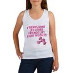Friends dont let other friends V2 Women's Tank Top