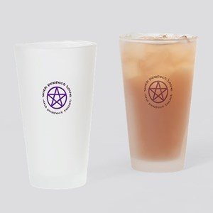 Perfect Love and Trust Drinking Glass