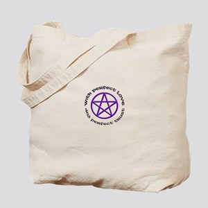 Perfect Love and Trust Tote Bag