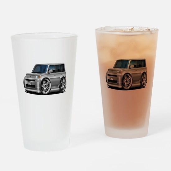 Scion XB Silver Car Drinking Glass
