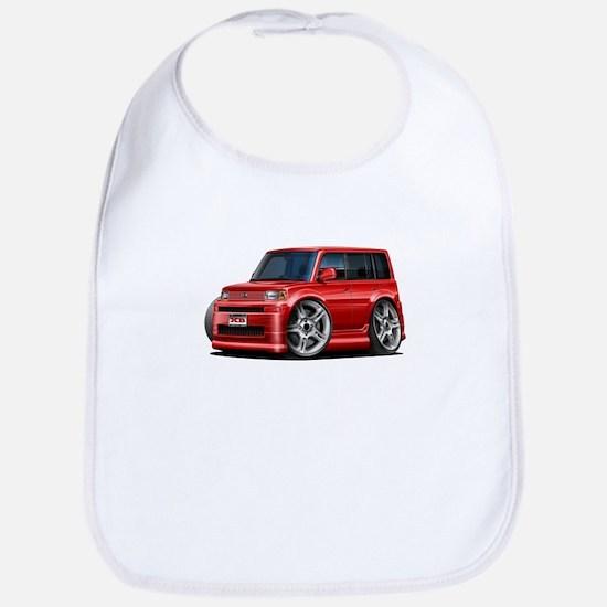 Scion XB Red Car Bib