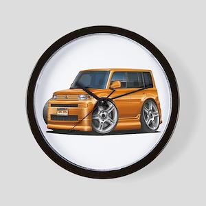Scion XB Orange Car Wall Clock