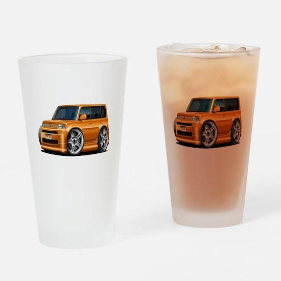 Scion XB Orange Car Drinking Glass