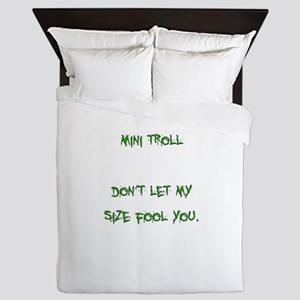 Mini Troll Queen Duvet