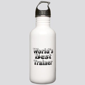 WORLDS BEST Trainer Stainless Water Bottle 1.0L