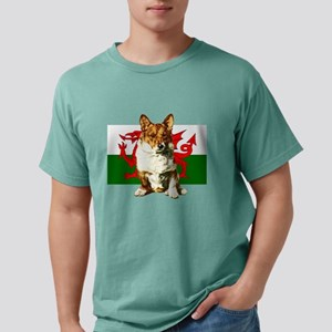 Welsh Corgi Mens Comfort Colors Shirt