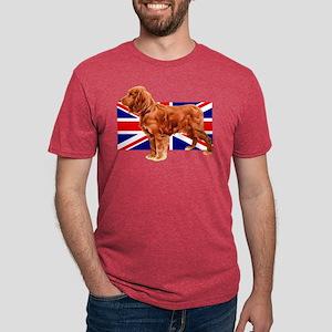 Golden Cocker Spaniel Mens Tri-blend T-Shirt