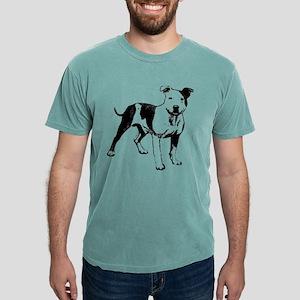 Bull Terrier Mens Comfort Colors Shirt