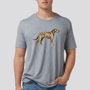 Irish Wolfhound Mens Tri-blend T-Shirt