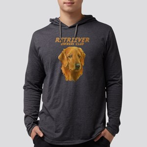 Golden Retriever Mens Hooded Shirt