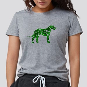 Irish Wolfhound Womens Tri-blend T-Shirt