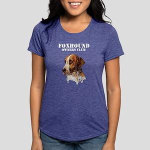 Foxhound Womens Tri-blend T-Shirt