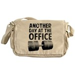 Another day at the office Messenger Bag