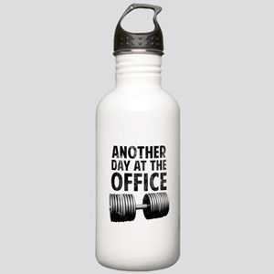 Another day at the office Stainless Water Bottle 1