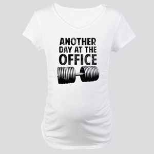 Another day at the office Maternity T-Shirt