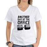 Another day at the office Women's V-Neck T-Shirt